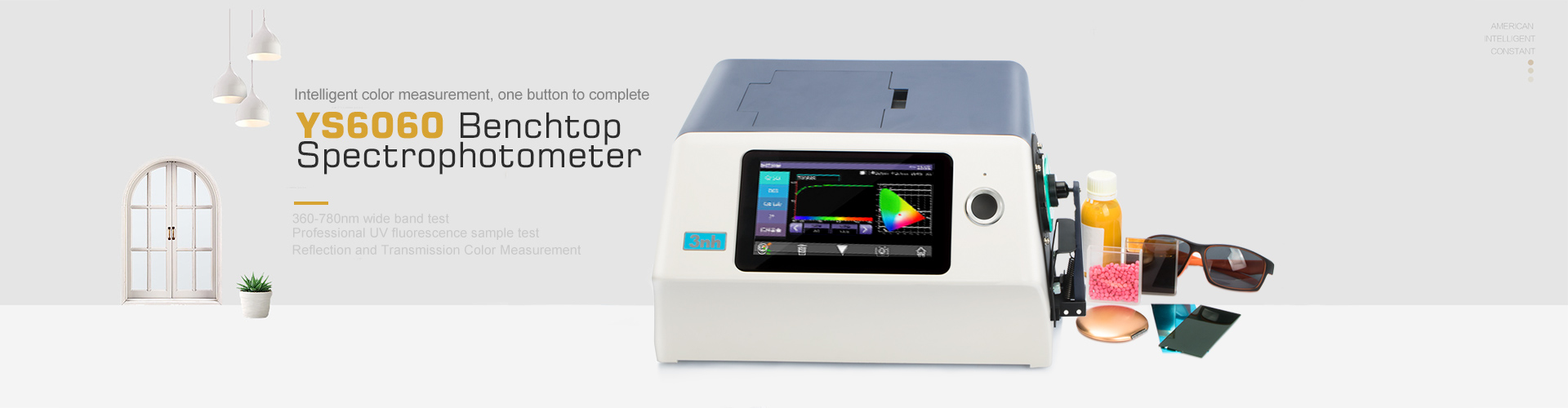 YS6060 Desktop Spectrophotometer